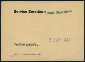 R.879: Saarland 1 Saarmark (1947) (1-)