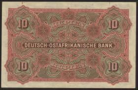 R.901: Deutsch-Ostafrika 10 Rupien 1905 (2)