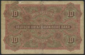 R.901: Deutsch-Ostafrika 10 Rupien 1905 (3-)