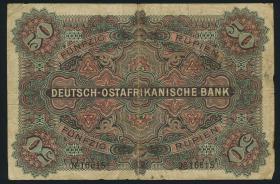 R.902d: Deutsch-Ostafrika 50 Rupien 1905 (3)