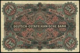 R.902d: Deutsch-Ostafrika 50 Rupien 1905 (3+)