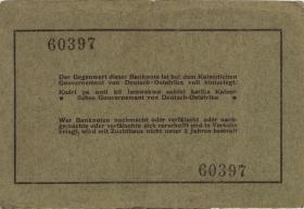 R.909a: Deutsch-Ostafrika 5 Rupien 1915 (3-)