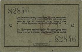 R.910d: Deutsch-Ostafrika 5 Rupien 1915 C (1-)