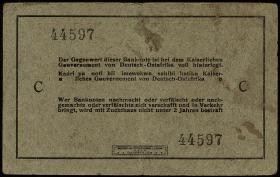 R.910F Deutsch-Ostafrika 5 Rupien 1915 D Fehldruck Awgust (3)