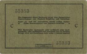 """R.910i: Deutsch-Ostafrika 5 Rupien 1915 C (2) """"Neugebauer"""""""