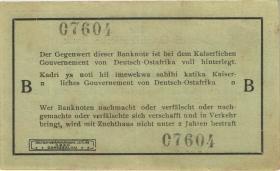 R.915: Deutsch-Ostafrika 1 Rupie 1915 B (2+)