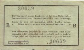 R.915: Deutsch-Ostafrika 1 Rupie 1915 B (3) 30659
