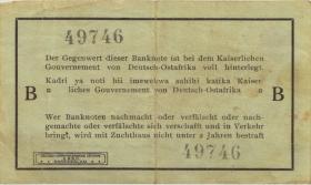 R.916a: Deutsch-Ostafrika 1 Rupie 1915 B (3)