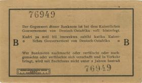 R.916b: Deutsch-Ostafrika 1 Rupie 1915 B (2)