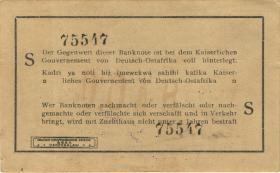 R.916l: Deutsch-Ostafrika 1 Rupie 1915 S (1/1-)
