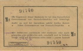 R.916q: Deutsch-Ostafrika 1 Rupie 1915 A2 (1/1-)