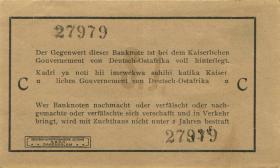 R.917b: Deutsch-Ostafrika 1 Rupie 1915 C (1-)