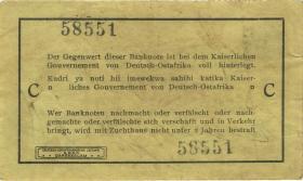 R.917b: Deutsch-Ostafrika 1 Rupie 1915 C (3)