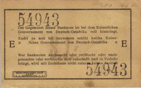 R.918a: Deutsch-Ostafrika 1 Rupie 1915 E (1/1-)