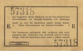 R.918a:  Deutsch-Ostafrika 1 Rupie 1915 E (1)