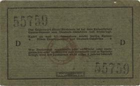 R.921a: Deutsch-Ostafrika 5 Rupien 1915 D (3)