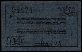 R.921Ak: Deutsch-Ostafrika 5 Rupien 1915 F (1)