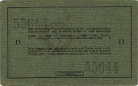 R.921c: Deutsch-Ostafrika 5 Rupien 1915 D (1-)
