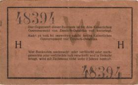 R.922b: Deutsch-Ostafrika 1 Rupie 1915 H (3)