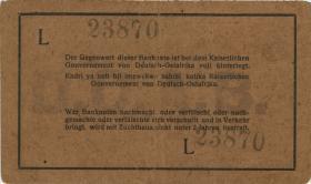 R.926b: Deutsch-Ostafrika 1 Rupie 1916 L (3+)