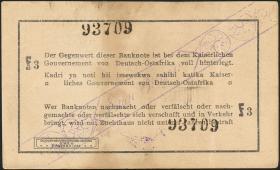 R.928aa: Deutsch-Ostafrika 1 Rupie 1916 F3 (2)