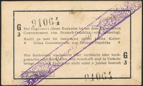 R.929a: Deutsch-Ostafrika 1 Rupie 1916 G3 (1-)