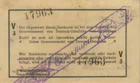 R.929w: Deutsch-Ostafrika 1 Rupie 1916 V3 (1-)