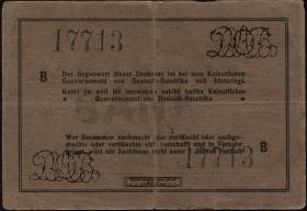 R.934d: Deutsch-Ostafrika 10 Rupien 1916 B (3)
