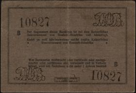 R.934d: Deutsch-Ostafrika 10 Rupien 1916 B (3+)