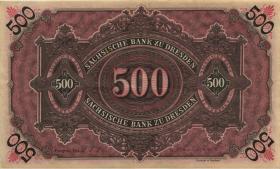 R-SAX 09a: 500 Mark 1911 (3+)