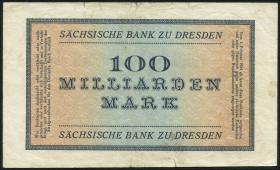 R-SAX 23: 100 Mrd. Mark 1923 (3-)