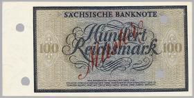 R-SAX 27M: 100 Reichsmark 1924 MUSTER (1/1-)