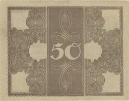 """R.056e: 50 Mark 1918 """"Trauerschein"""" (2+)"""