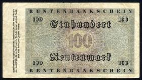 R.159 100 Rentenmark 1923 (3-)