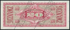 R.247M 20 DM (1948) Liberty B-Stempel Specimen (1)