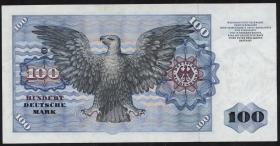 R.284a 100 DM 1980 ohne Copyright (2+)