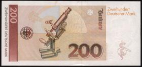 R.295a 200 DM 1989 (1-) Serie AG