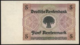 R.332b: 5 DM 1948 Kuponausgabe (1-)