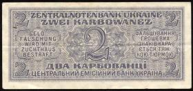 R.592: Besetzung Ukraine 2 Karbowanez 1942 (3+) #6382682