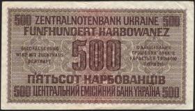 R.599: Besetzung Ukraine 500 Karbowanez 1942 (2)