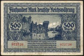 R.793: Danzig 500 Mark 1922 (3)