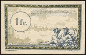 R.859c: Rheinland 1 Franc (1923) Specimen (1/1-)