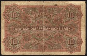 R.901: Deutsch-Ostafrika 10 Rupien 1905 (4)