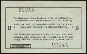 R.916a: Deutsch-Ostafrika 1 Rupie 1915 B (1)