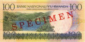Ruanda / Rwanda P.29bs 100 Francs 2003 (2006) (1)