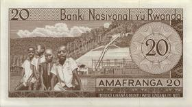 Ruanda / Rwanda P.06a 20 Francs 1.7.1964 (1)