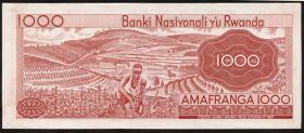Ruanda / Rwanda P.10c 1000 Francs 1976 (1)