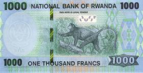 Ruanda / Rwanda P.neu 1000 Francs 2019 (1)