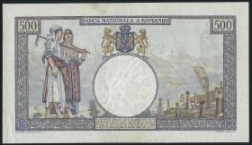 Rumänien / Romania P.032a 500 Lei 19.12.1933 (4)