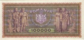 Rumänien / Romania P.059 100.000 Lei 1947 (2+)